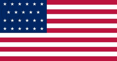 Bandera Estados Unidos (1820 - 1822)