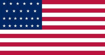 Bandera Estados Unidos (1836 - 1837)