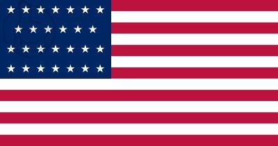 Bandera Estados Unidos (1845 - 1846)