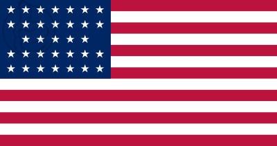 Bandera Estados Unidos (1859 - 1861)