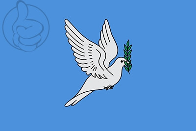 Bird of peace flag available to buy flagsok bandera bird of peace sciox Choice Image