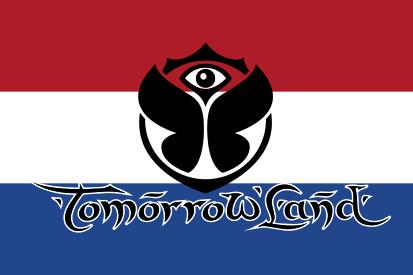 Bandera Holanda Tomorrowland