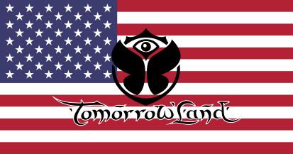 Bandera Estados Unidos Tomorrowland