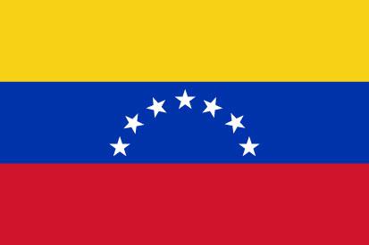 Bandera Venezuela 7 estrellas sin escudo