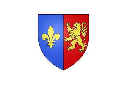 Bandera Lys-Saint-Georges