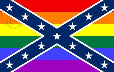 Bandera Estados Confederados de América GAY