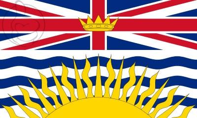 Bandera Columbia Británica