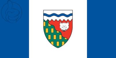 Bandera Territorios del Noroeste