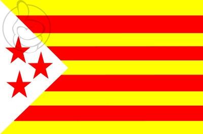Bandera Estelada de las 3 Estrellas