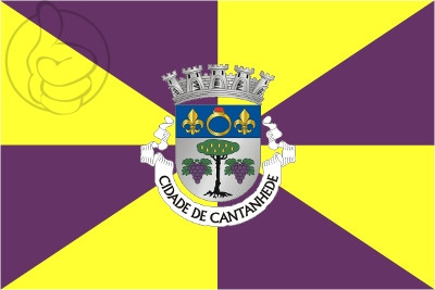 Bandera Cantanhede (Portugal)