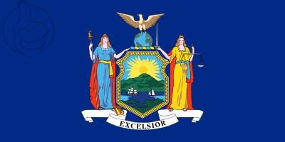 Bandera Nueva York (estado)