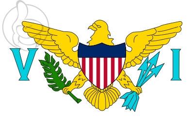 Bandera Islas Vírgenes de los Estados Unidos