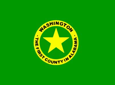 Bandera Condado de Washington (Alabama)