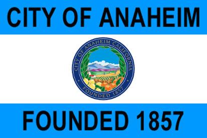 Bandera Anaheim, California