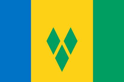 Bandera San Vicente y las Granadinas