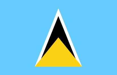 Bandera Sainte Lucie