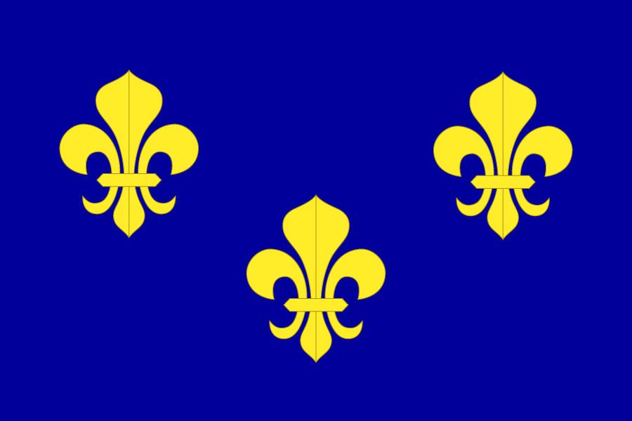 Bandera France Royaume