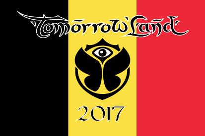 Bandera Tomorrowland Bélgica 2017