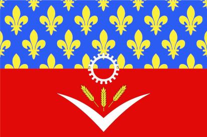 Bandera Seine-Saint-Denis