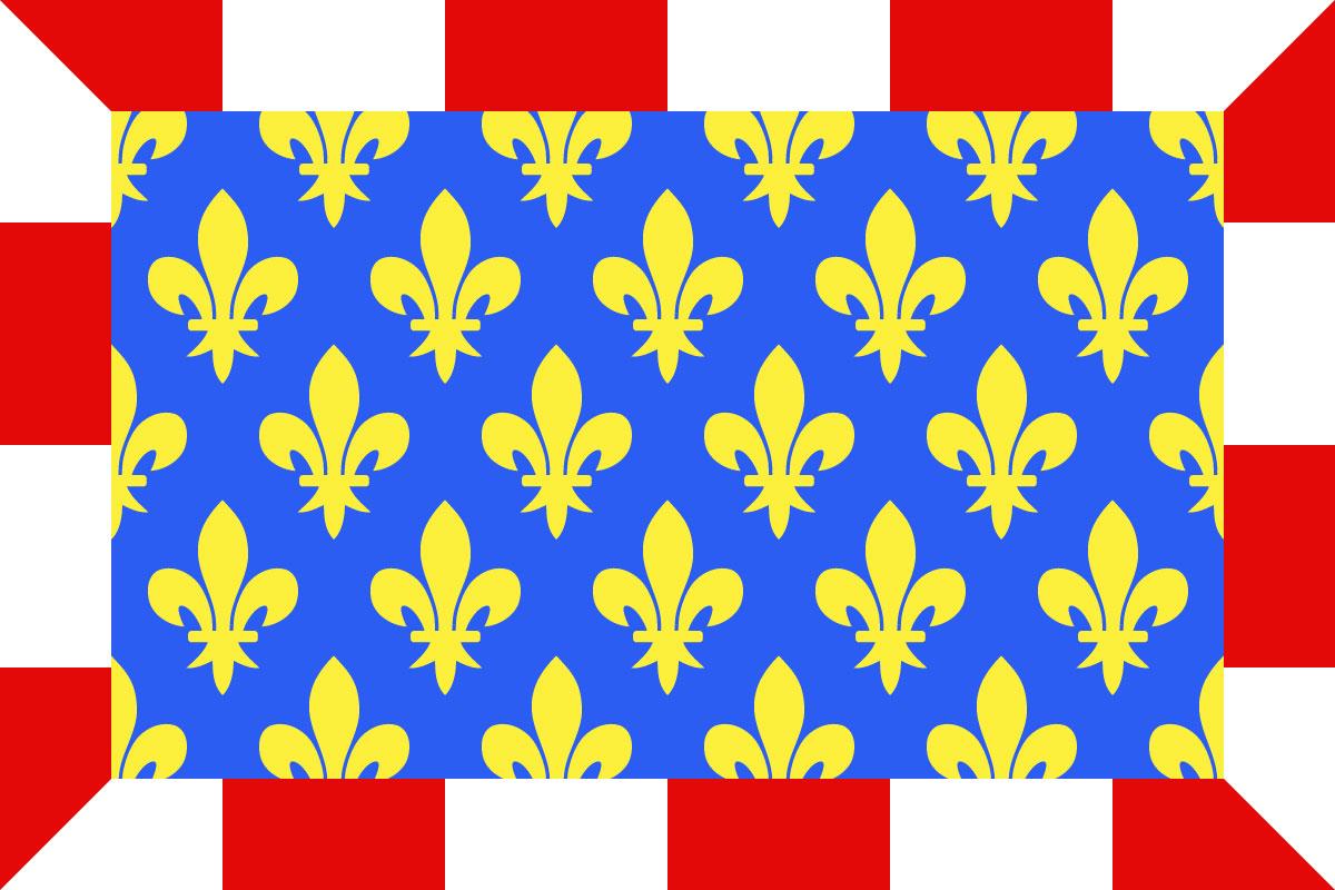 Bandera Indre et Loire