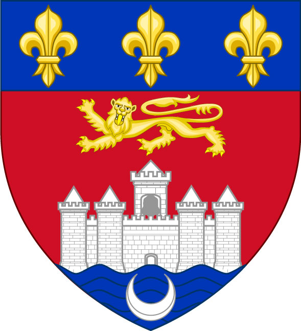 Bandera Bordeaux