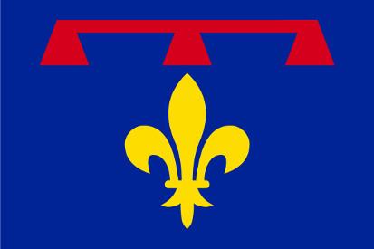 Bandera Alpes-de-Haute-Provence
