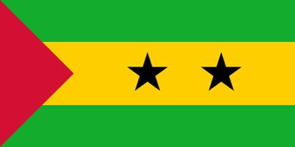 Bandera Saint Tomé et Principe