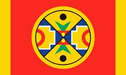 Bandera Grand Conseil de la Nation micmac
