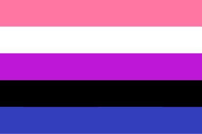 Bandera Género Fluido