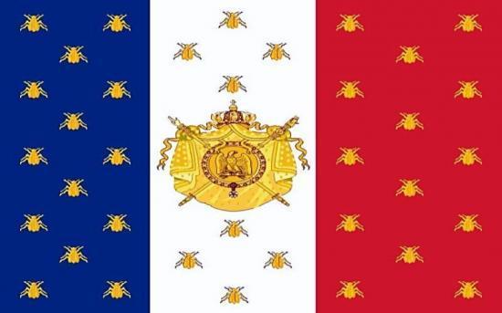 Bandera Napoléon III