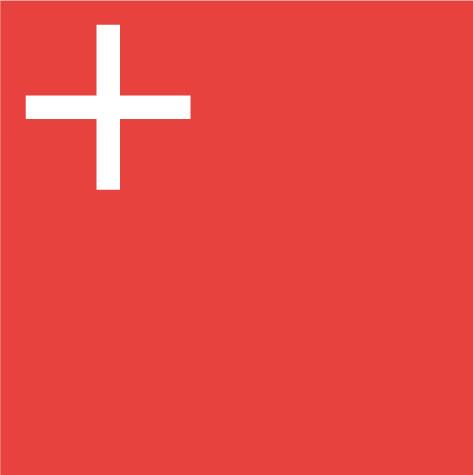 Bandera Canton de Schwyz