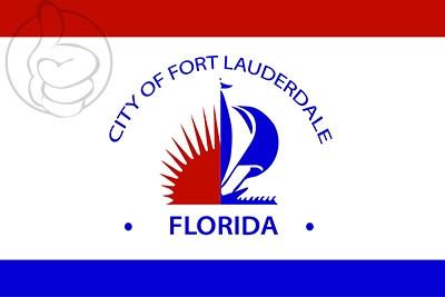 Bandera Fort Lauderdale, Florida