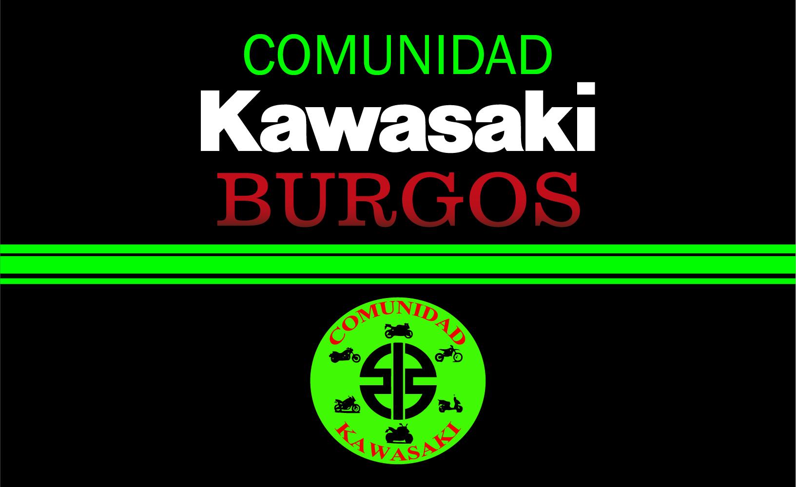 Bandera Comunidad Kawasaki Burgos