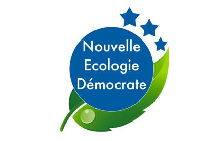 Bandera Nueva ecología demócrata