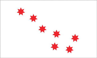 Bandera Cherokee Peace Flag