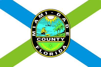 Bandera Condado de Miami-Dade