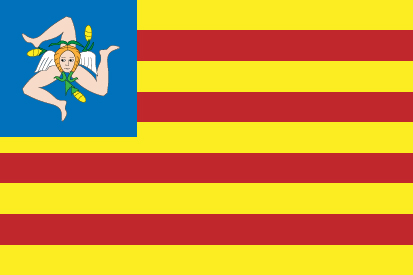 Bandera Nacionalisme Sicilià
