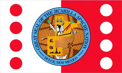 Bandera Jicarilla Apache