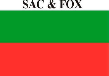 Bandera LC Sac & Fox