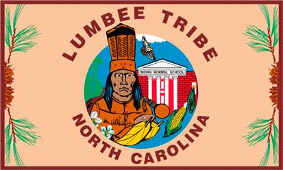 Bandera Tribu Lumbee