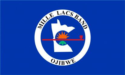 Bandera Mille Lacs Ojibwe