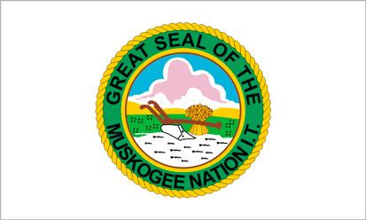 Bandera Nación Muskogee