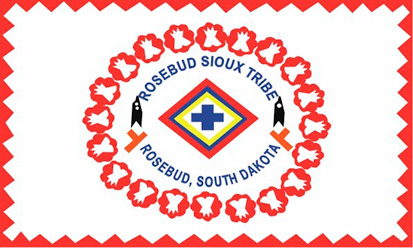 Bandera Rosebud Sioux