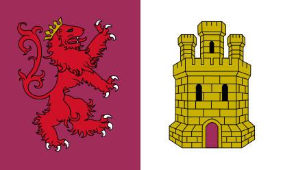 Bandera Provincia de Cáceres