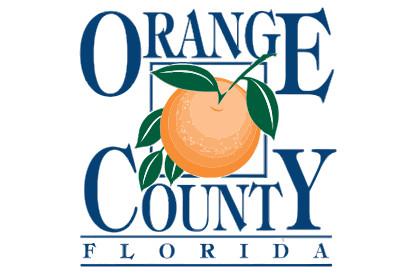 Bandera Condado de Orange, Florida