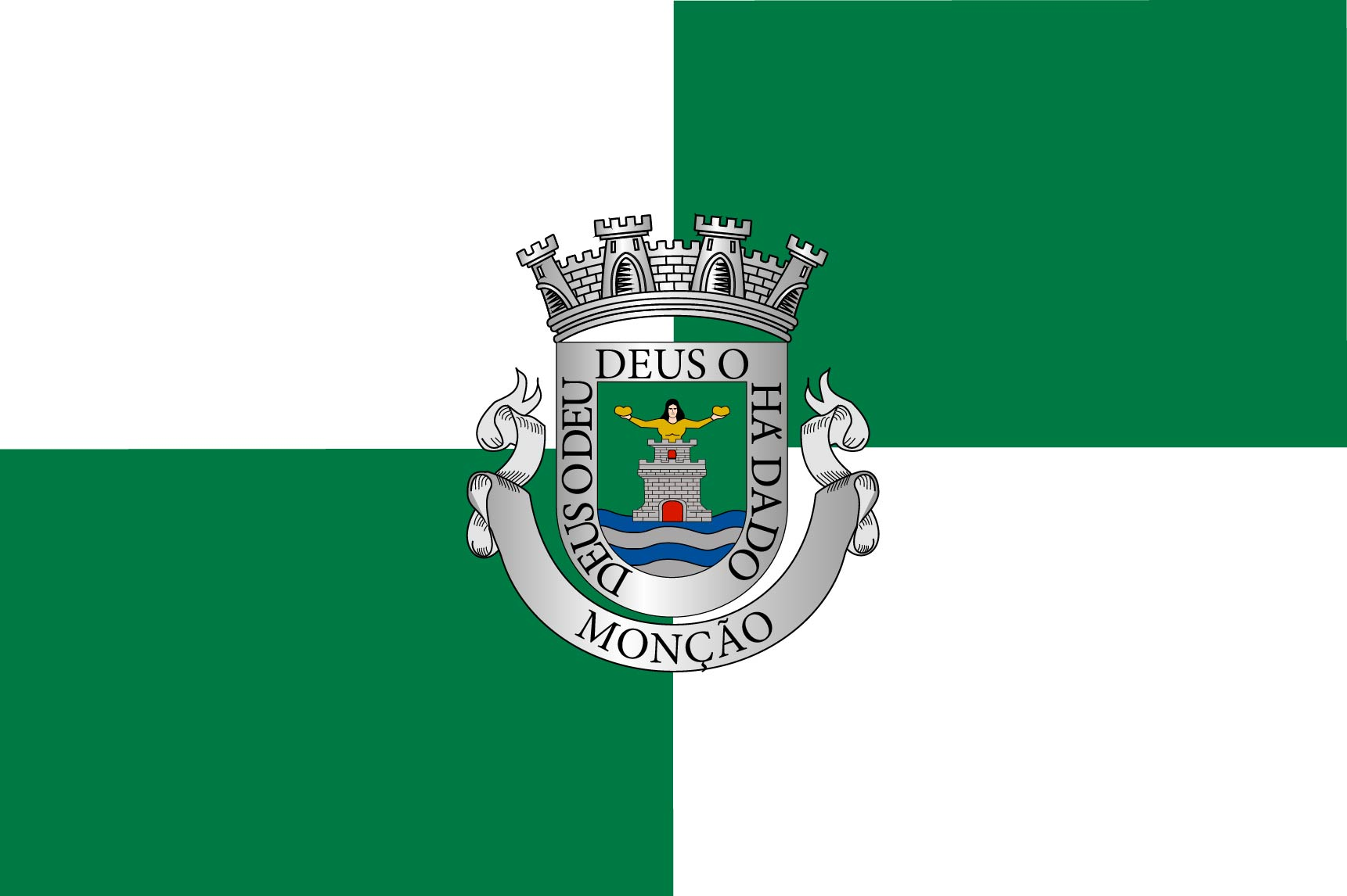 Bandera Monção, Portugal