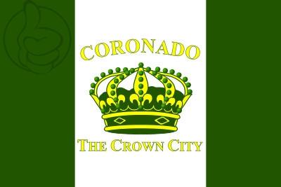 Bandera Coronado, California