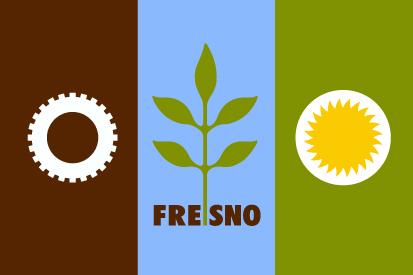 Bandera Fresno, California