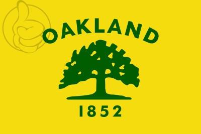Bandera Oakland, California