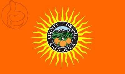 Bandera Condado de Orange, California